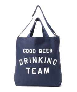 TACOMA FUJI RECORDS / GOOD BEER DRINKING TEAM Tote Bag