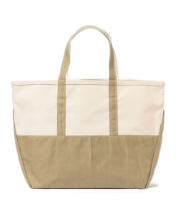 【予約】 L.L.Bean × BEAMS PLUS / 別注 DEEP BOTTOM BOAT&TOTE BAG L