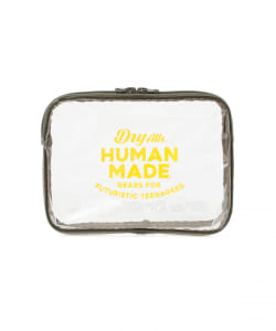 HUMAN MADE / PVC POUCH L
