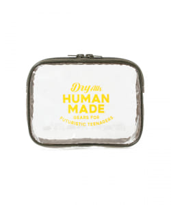 HUMAN MADE / PVC POUCH M