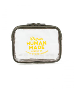 HUMAN MADE / PVC POUCH S
