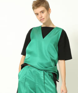 maturely / Shantung Tunic
