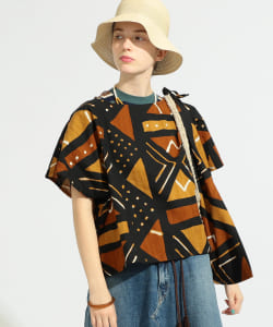 【予約】orslow × BEAMS BOY / 別注 African Print Shirts