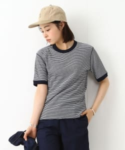 【BOY JOURNAL vol.3掲載】Healthknit × BEAMS BOY / ワッフルボーダーTシャツ