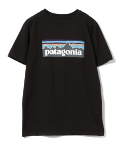 Patagonia /  ボーイズ ロゴ Tシャツ●