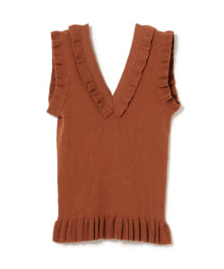 maturely / Natural Cotton Back to Front Tank Top