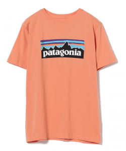 【WEB限定】patagonia / ボーイズ ロゴ Tシャツ●