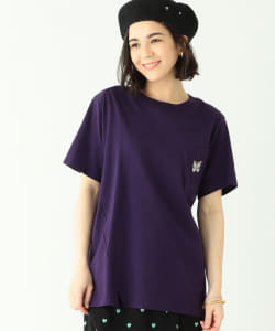 NEEDLES × BEAMS BOY / 別注 Papillon Twist Pocket T-shirt●
