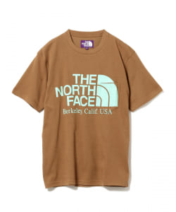 <UNISEX>THE NORTH FACE PURPLE LABEL × BEAMS BOY/ 別注 ロゴ ポケットTシャツ 20SS