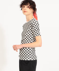 【予約】SCREEN STARS × maturely / Checker Reversible Tshit