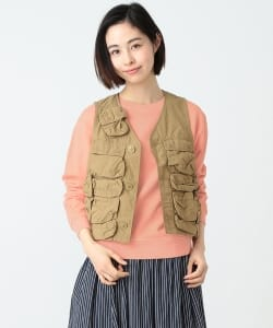 BEAMS BOY / TYPE C-1 VEST