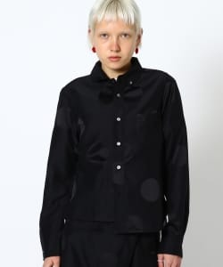 【予約】maturely / YIN-YANG Dot Joint Shirts