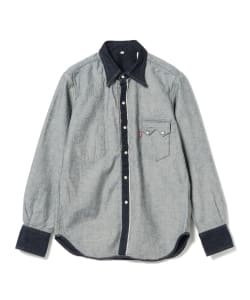 <WOMEN>LEVI'S(R) × BEAMS / 別注 Inside Out Western Shirt
