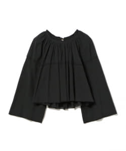 maturely / Crepe Volume Reversible Blouse