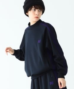 【予約】NEEDLES / Track Mockneck Tops●