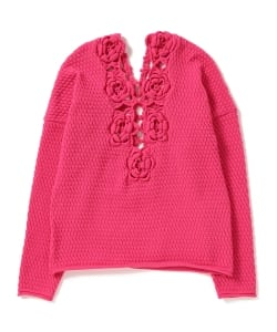 【GINZA 8月号掲載】maturely / Elastic Crochet Knit