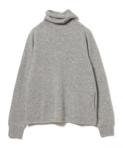 【予約】maturely / Lamb Wool Whole Garment Off Turtle