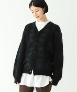 South2 West8 × BEAMS BOY / 別注 Mohair Cardigan