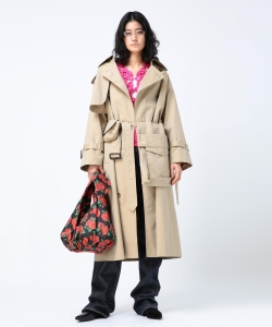 【予約】maturely / Big Trench Extra Coat