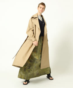 【予約】maturely / Solotex Storm Coat