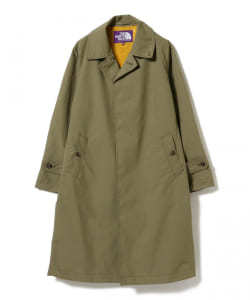 THE NORTH FACE PURPLE LABEL × BEAMS BOY / 別注 ステンカラーコート 21SS●
