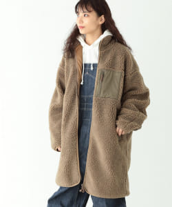 【予約】WILD THINGS × BEAMS BOY / 別注 BOA LONG JACKET