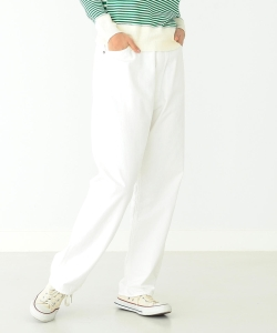 orslow / 別注 White Monroe Denim Pants