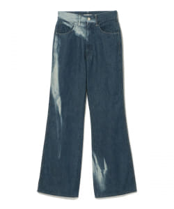 AURALEE / SUN FADE BLEACH DENIM 5P PANTS