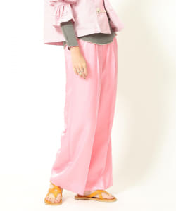【アウトレット】maturely / Shantung Wide Pants