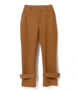 maturely / Fake Suede Belted Pants