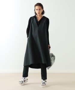 【予約】maturely / Gabardine Dress