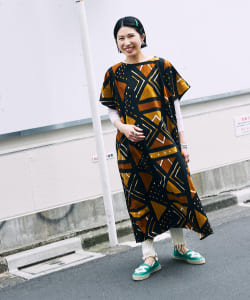 orSlow × BEAMS BOY / 別注 African Print One-piece