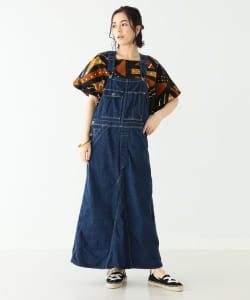 【予約】orslow × BEAMS BOY / 別注 Farmer Girl Jumper Skirt