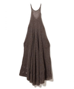【予約】moturely / Mohair Shetland Dress