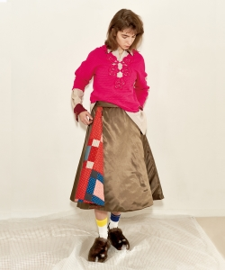 maturely / MUSE Quilt Circular Skirt