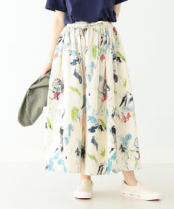 orslow / Long Length Gather Skirt