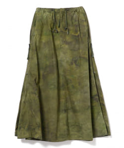 BUZZ RICKSON'S × maturely / TieDye Military Maxi Skirt