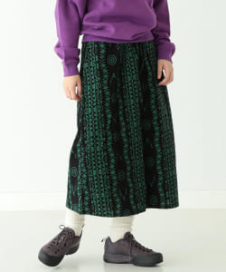 South2 West8 × BEAMS BOY / 別注 String Skirt