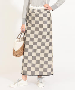 maturely / Glitter Check Maxi