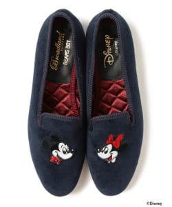 <WOMEN>Broadland SLIPPERS × BEAMS BOY / Disney スリップオン(ディズニー)