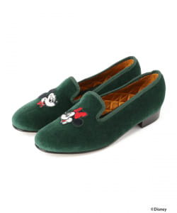【BEAMS JAPAN限定】<MEN><WOMEN>Broadland SLIPPERS × BEAMS BOY / Disney スリップオン(ディズニー)