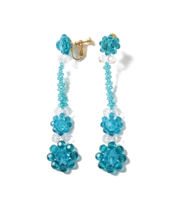 【予約】maturely / Crystal Earrings