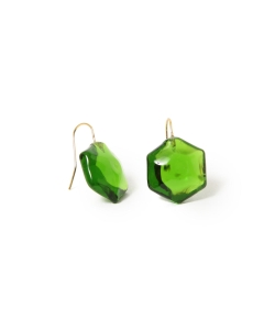 maturely / Glass Earring