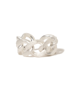 【予約】maturely / Silver & Gold Chain Ring