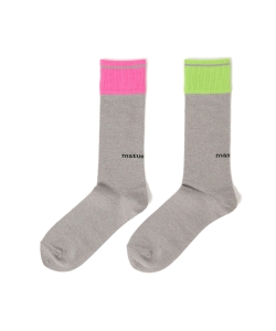 【GINZA 8月号掲載】maturely / Color Block Socks