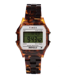 "【予約】TIMEX × BEAMS BOY / 別注 Classics Digital ""Tortoise shell"" デジタル ウォッチ"