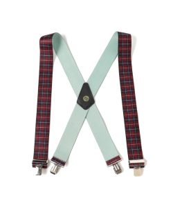 Suspender Factory of San Francisco / Plaid Suspender