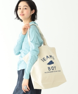 【WEB限定】BEAMS BOY / BB ロゴ TOTE BAG (L)