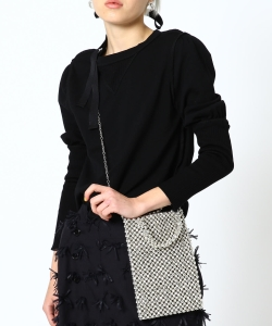 maturely / Beads Tote & Shoulder Bag