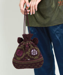 maturely / Tirol DrawString Pouch